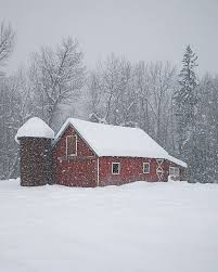 Tom Barn Barn In A Blizzard Vertical Version Photograph By Tom Reichner