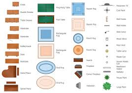 floor plans solution conceptdraw com design elements floor plans furniture