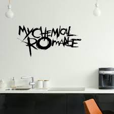 emo wall art promotion shop for promotional emo wall art on my chemical romance emo bedroom wall mural art sticker graphic matt vinyl wall decals vinyl stickers decal vinyl sticker