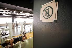 struggle to ban smartphone usage in gyms the new york times