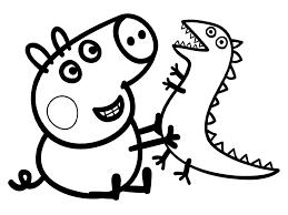 peppa pig colorear buscar google proyectos