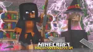 minecraft donut the dog first live stream halloween special