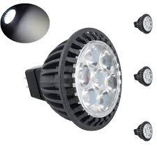 bonlux 3 pack led mr16 spotlight gu5 3 bi pin base 120v 5w
