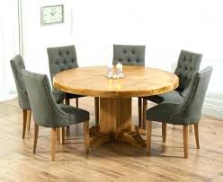 round table with 6 chairs 6 chair dining table set blogdelfreelance com
