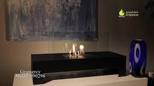 anywhere fireplace gramercy bioethanol fireplace indoors