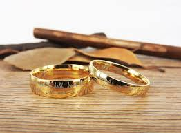 wedding bands handmade your marriage vow signature rings wedding rings glod match