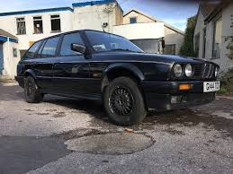 diamond bmw bmw e30 325i touring rolling shell project metallic diamond black
