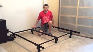 Bed Frame Without Wheels Leggett And Platt Instamatic Bed Frame With Wheels Review