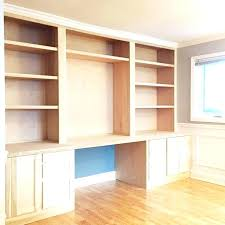 Computer Desk Built In Bookcase With Built In Desk Above Desk Bookcase Built In Bookcase