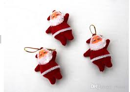 tree ornaments santa claus chrismas tree decorations