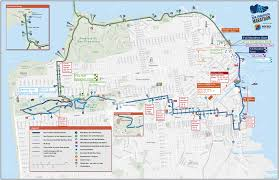 F Line Map San Francisco narwhal creative