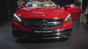 mercedes maybach u0027s s650 cabriolet puts the top down and amps the