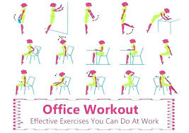 Office Workouts At Desk Office Desk Workouts Beautiful Exercises At Your Workout Chair