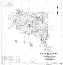 Ky County Map Hickman County About Hickman County