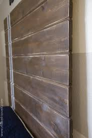 How To Make A Door Headboard by Very Simple Diy Wood Plank Headboard Make It And Love It
