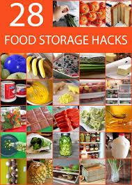 28 food storage tips and hacks to make food last longer