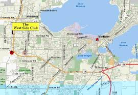 map of oregon wi directions for mscd 2012 west side club and memorial union