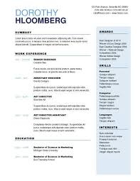 Resume Templates Modern 2 Column Resume Template Eliving Co