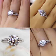 best cubic zirconia engagement rings the affordable white gold cubic zirconia engagement rings