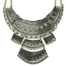 ethnic necklace images Egyptian metal ethnic statement necklace free shipping worldwide jpg