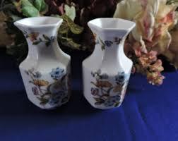 Aynsley China Cottage Garden Vase Aynsley Fine China Etsy