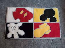 Disney Bath Rug Mickey Mouse Rug Ebay