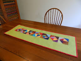 table runners made modern