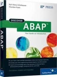 discover abap 2nd edition discover sap press by karl heinz