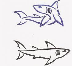 tribal shark tattoos by rorirogers on deviantart