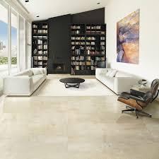 Cream Gloss Laminate Flooring Indoor Tile Outdoor Wall Floor Cream Crema Marfil Coto