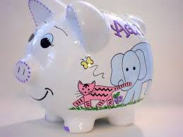 Personalized Silver Piggy Bank 11 Best Piggy Bank Ideas Images On Pinterest Piggy Banks