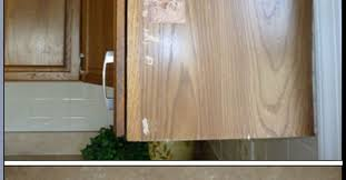 how to touch up stain kitchen cabinets quick oak cabinet fix with tiny budget hometalk
