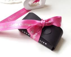 printed ribbons for favors wedding favor ribbon etsy