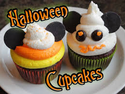 the disney diner disney halloween cupcakes candy corn and mickey