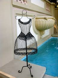 Wrought Iron Home Decor Wrought Iron Mannequin Jewelry Display Stand Home Decor The