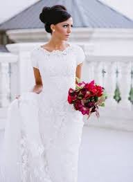 32 short sleeve wedding dresses for every bride happywedd com