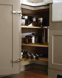 Lazy Susan For Corner Kitchen Cabinet 15 Best Kitchen Corner Cabinet Images On Pinterest Corner