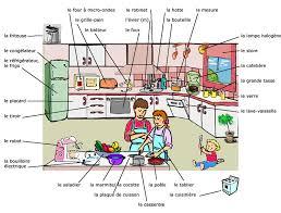 a la cuisine la cuisine et les ustensiles de cuisine learning