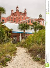 loews don cesar hotel located in st pete beach florida editorial