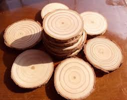 Country Centerpieces Online Shop 10pcs 7 9cm Wood Log Slices Christmas Birthday Baby