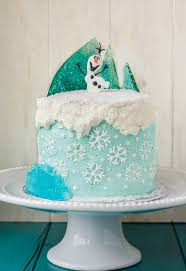 Frozen Theme Cake The Cookie Writer