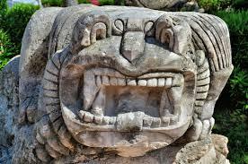 God Statue Jaguar God Statue In Tulum Pueblo Mexico Encircle Photos