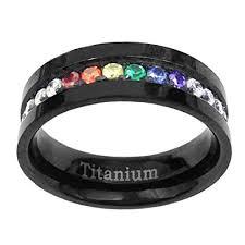 titanium engagement rings 6mm black titanium engagement ring wedding