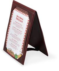 Table Tent Holders by Vinyl A Frame Table Tents