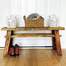 the rustic bench reclaimed farmhouse a frame country style