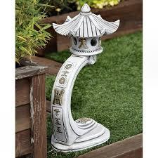 curved japanese pagoda garden ornaments