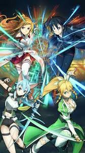 Fabuloso Started watching Sword Art Online! It was not what I expected so  #GR07