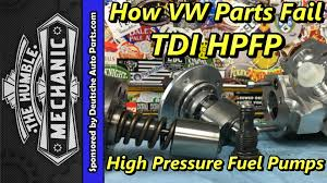 volkswagen parts how vw parts fail tdi high pressure fuel pumps youtube