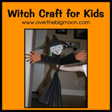 halloween witch craft witch craft for kids tutorial over the big moon