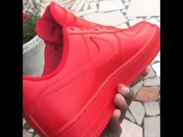 angelus paint air force ones youtube